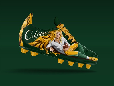 Clay Matthews espn nfl football novel romance hair cleats shoe illustration