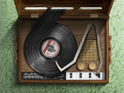 Square record