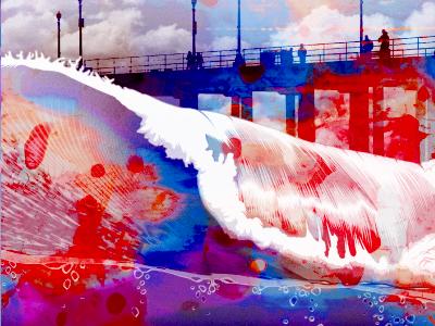 Wave illustration