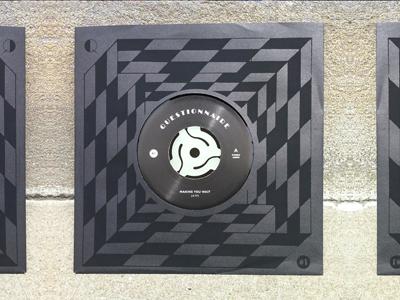 "Questionnaire Q1 7"" pattern synthpop vinyl album record"