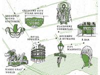 Wildsam - Mardi Gras Map