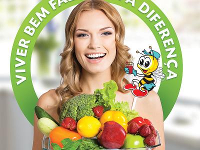 Veggie Supermarket Tabloid supermarket veggie light tabloid editorial