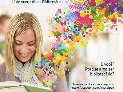 Librarian Day books imagination color