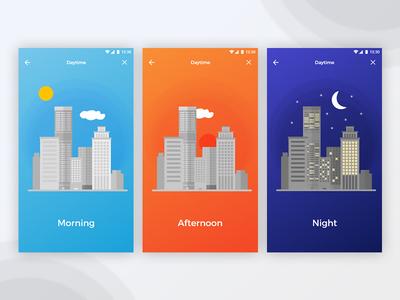 Daytime illustrations