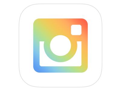 Instagram Icon Concept icon app icon