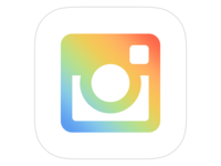 Instagram Icon Concept