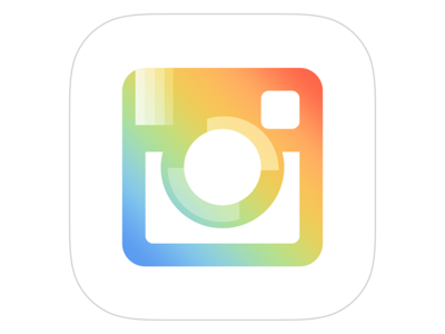 Revisiting my Instagram Icon Concept icon boomerang hyperlapse layout instagram