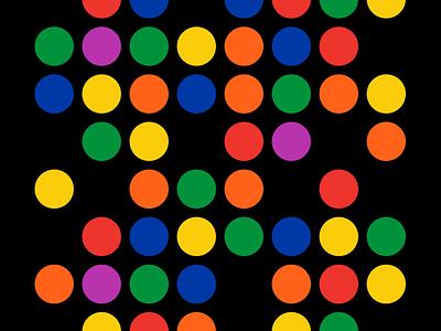 Subway Dots color nyc shirt