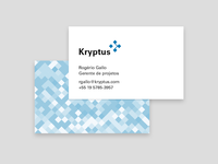 Business card for Kryptus