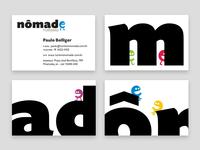 Business cards for Turismo Nômade