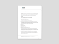 Letterhead for FDB