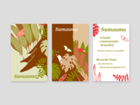 Business cards for Sumauma