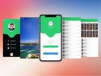 Chatr App Design