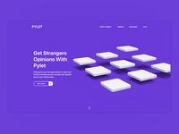 Pylet Landing Page