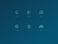 Bike Management Icons