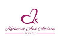Dual Meaning Wedding Logo (Kate and Andrew)