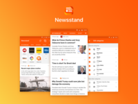 All news in one app, Newsstand