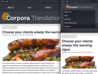 Corpora Translations