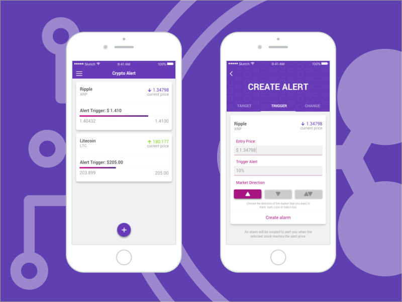 cryptocurrency alerts iphone