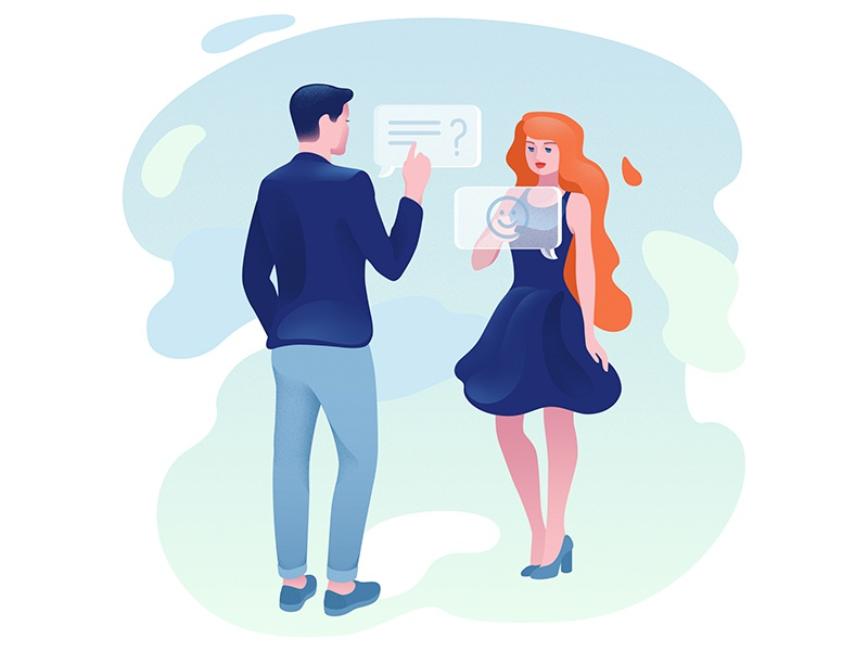 Start messaging messages boyfriend girl dating love relationship app