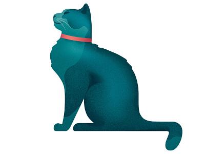 Cat branding design art illustration vector wine character label logo cat