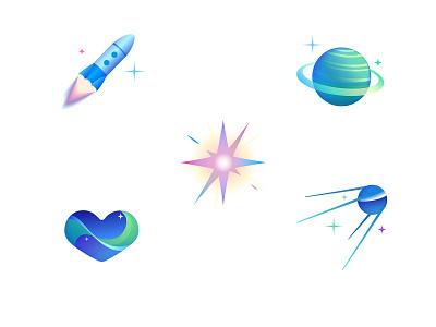 Icons adobeillustator vector logo design illustration
