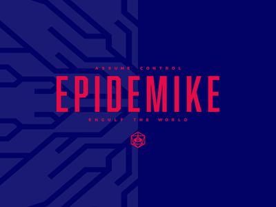Epidemike - Typographic Logo