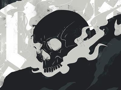 Redemption Vape - Smoking Skull