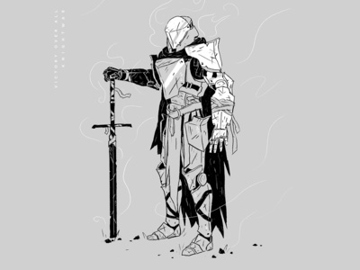 Knight Character Concept — Personal Project