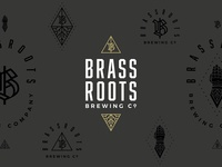 Brassroots Brewing Co. - Stacked Logo