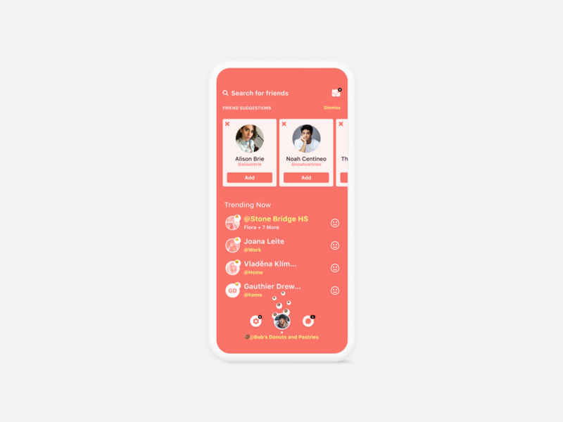 The Stoop consumer mobile ui app