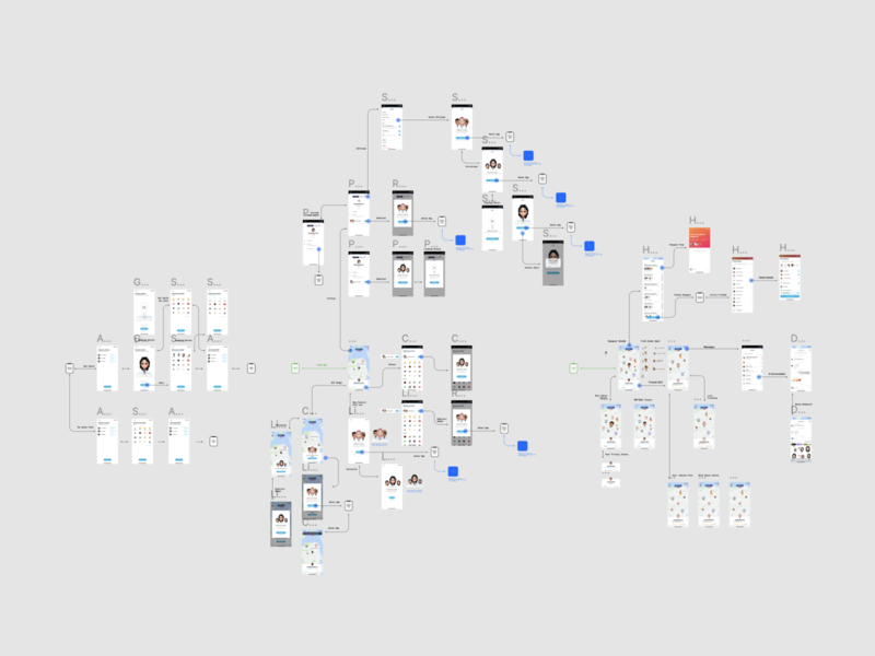 Genies x Twenty UX App Flows ui consumer mobile
