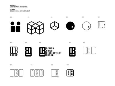 DBDG -- Logo Development (100 concepts)