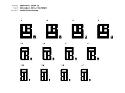 208 Logomark Versions -- DBDG  Logomark 94
