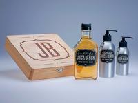 Rebrand for Jack Black Skincare Products