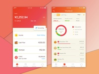Redesign Finance App for kid