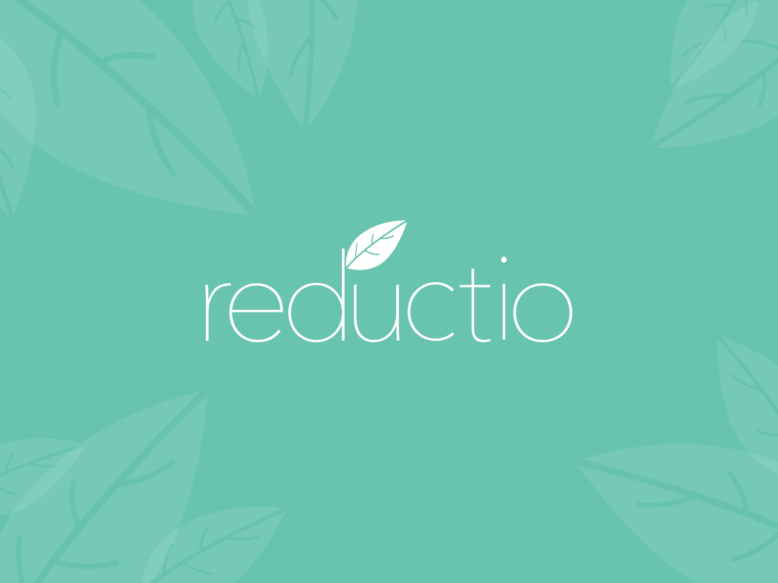 reductio - logo typography branding vector ui illustration figma sketch pure leave minimalistic logo minimalistic minimal less reduction master thesis app logo app  design green logo