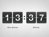 Flip clock counter for csnvaka.nu