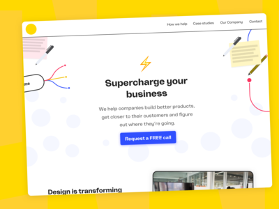 WIP – New Design Agency Website
