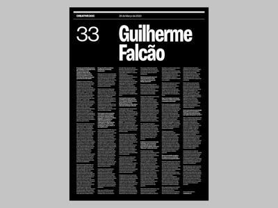 Promotional posters –Creative Doc ui branding digital design editorial haas grotesk creativedoc visual design typography design graphic design