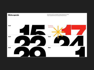 Agenda ux digital haas grotesk ui digital design web visual design typography design graphic design