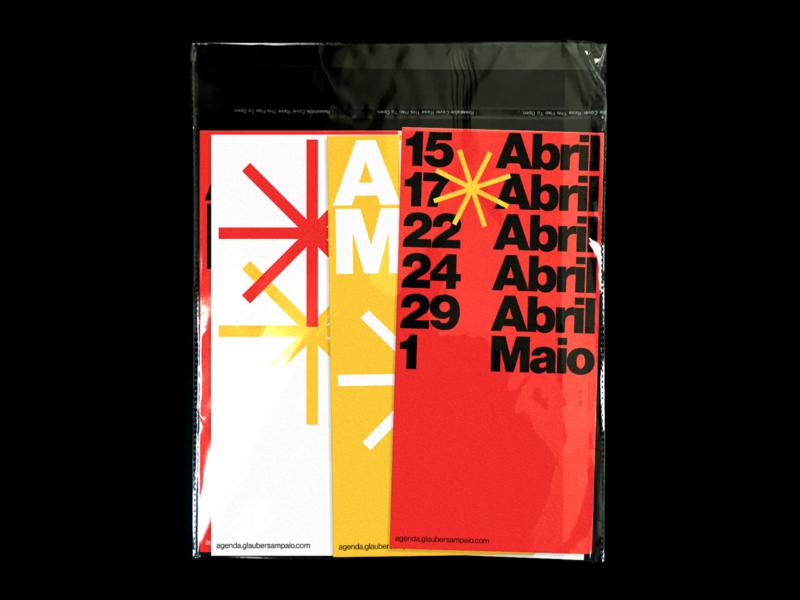 Agenda –Folders branding ui editorial haas grotesk web visual design typography design graphic design