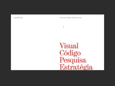 Aprender Design haas grotesk ux graphic design typography branding ui web digital design visual design design