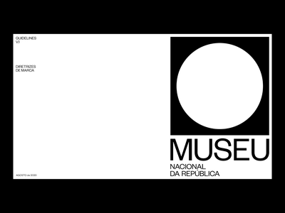 MUSEU – Guidelines branding editorial visual design typography design graphic design