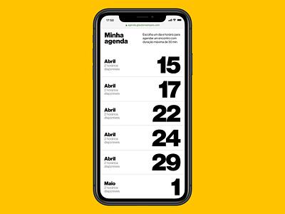 Agenda digital ux ui editorial web digital design graphic design visual design typography design