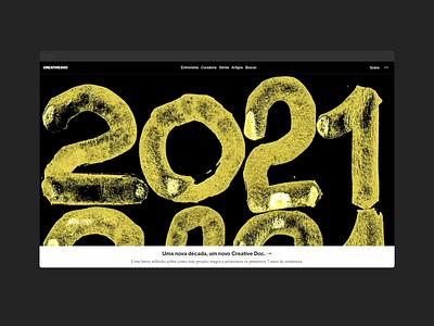 Creative Doc –new identity haas grotesk creativedoc branding ui web digital design typography design visual design graphic design