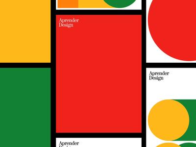 Aprender Design geometric branding haas grotesk ui visual design typography digital design design web graphic design