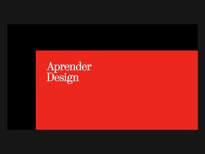 Landing Page (2020)–Aprender Design haas grotesk digital branding ui editorial visual design typography digital design design graphic design