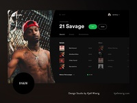 Spotify Web Player / Digital Identity