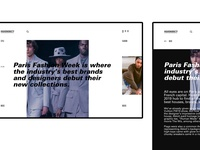 Web identity for @highsnobiety
